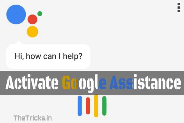 Activate Google Assistant