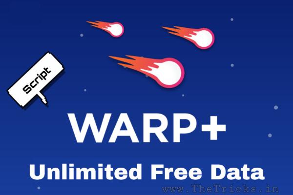 1.1.1.1 Warp+ Unlimited Key