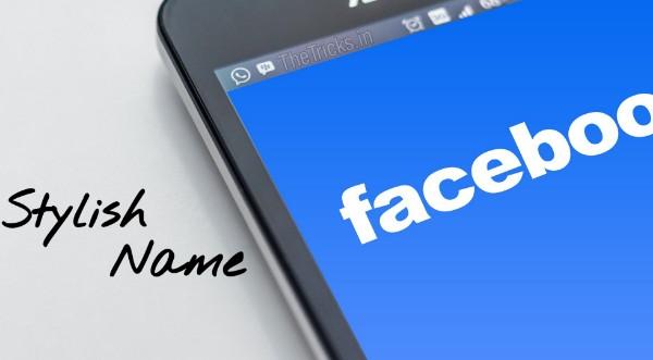 Stylish fb name