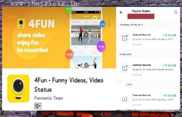 4fun app earn money