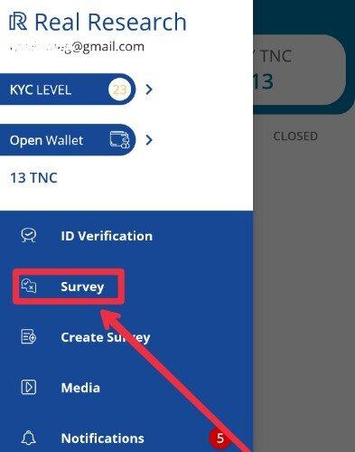 Do survey and earn money