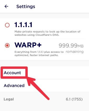 1.1.1.1 Warp+ Unlimited Key 2021